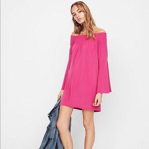 Express off the shoulder Dress(NWT)